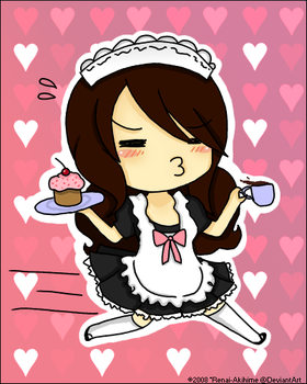 And Here comes the Maid. by Renai-Akihime