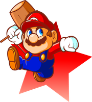 Hero of the Land, Mario by JamesmanTheRegenold