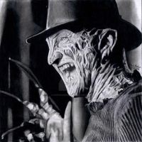 Freddy Krueger by Chrisbakerart