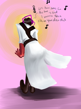 Medic likes LADY GAGA. by The-Letter-W