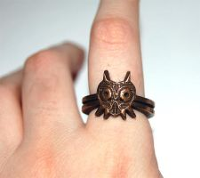 The Legend of Zelda Majoras Mask Ring by knil-maloon