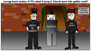 What If Jerry And Friends Were Into Gothic Rock? by EnergyBrainComics