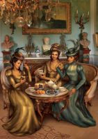 Victorian tea by vdlm