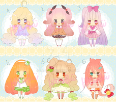 Loliwitches ADOPTS {paypal only} by Hacuubii