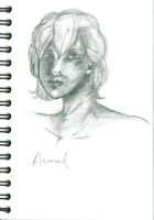 Armand sketch by LiaVilore