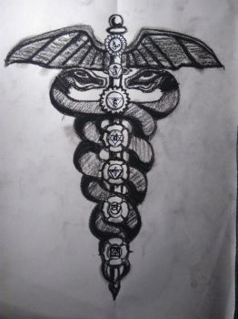 - Caducee, Sketch I - by Disiorsedausc