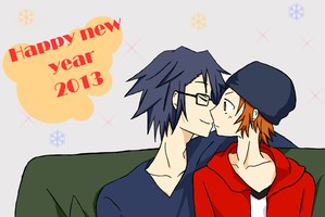 Happy new year by Yazu-Jud