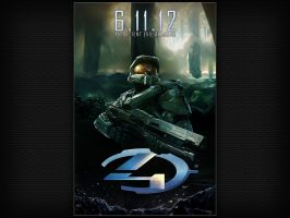 Halo 4 Poster Chief [for PC, iPad + iPhone] by Smyf