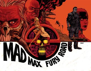 Mad Max.pinup.flatMad Max pin-up by Devilpig