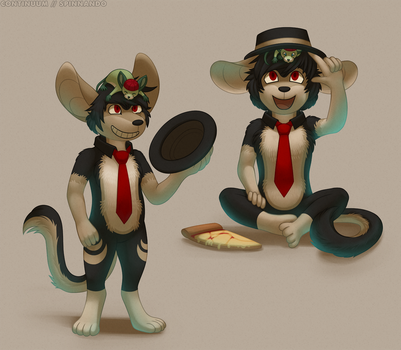 Hat Mouse by spinnando