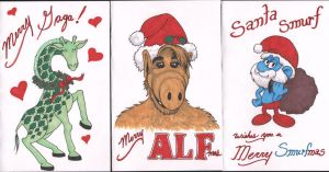 Christmas Cards 2013 by angelacapel