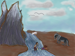 Taming Round 5- Hi! River Has Plenty of Room by magikwolf