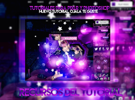 +RECURSOS PARA LA EDICION PURPLE by LupishaGreyDesigns