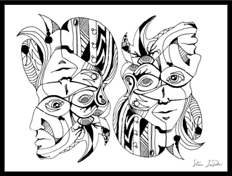 Different Sides of Thought by noblewebs