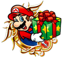 Christmas Mario by SuperRhys217