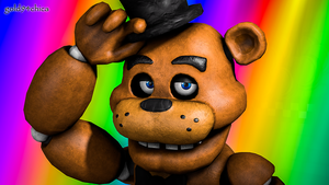 M'lady... (Freddy SFM Wallpaper) by gold94chica