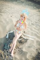 Pool Party Janna Cosplay! by rozemira