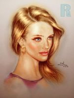 Rosie Huntington-Whiteley - Colored by Raphael-25
