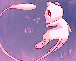 #151 Mew by ClawCraps