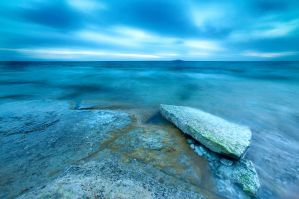 A lonely stone.. by proboarder
