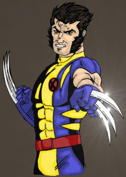 Wolvie in color by LastSonofKrypton38