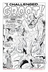 1st GROOT Appearance RECREATION! TTA #13 Hazlewood by DRHazlewood