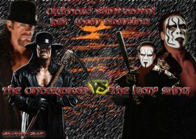 The Undertaker vs. Sting by bugoy1208