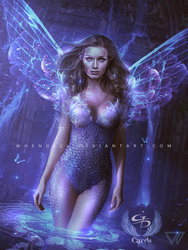Fairy of the Lake by Whendell