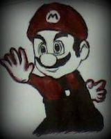 2012 drawing - mario by nielopena