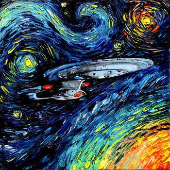 van Gogh Never Boldly Went by sagittariusgallery