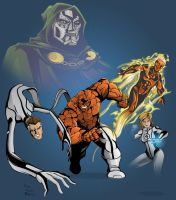The Fantastic Four by TimelessUnknown