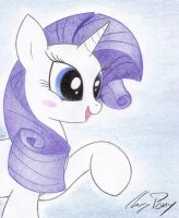 Rarity by TheChrisPony