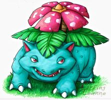 Pokemon Commish - Venusaur