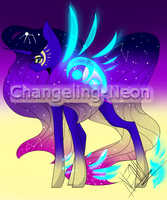 (MLP) Celestial Adopt (CLOSED) by Changeling-Neon