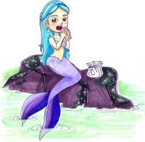 12302008Mermaid and a burrito by NenaLuna