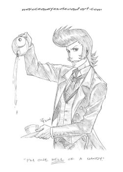 commission. one hell of a dandy by maioceaneyes