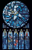 d: Batman Rose Window :b by nenuiel