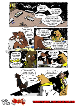The Highest Bet - 3rd Guest Page by Rick Griffin by Stu-Jojo