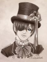 Anime Portrait: Ciel Phantomhive by Shuukaku92