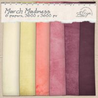 March Madness paper pack by Eijaite