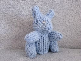 Loom Knitted Mini Bunny by ScarlettRoyale