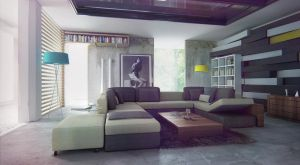 Dreamy living room v2 by bizkitfan