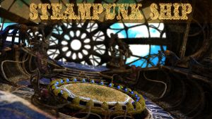Steampunk Ship Stage [Download] by DimentionalAlice
