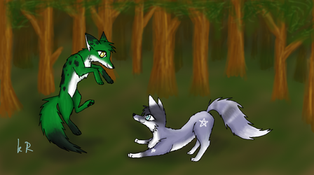 Vulpes Woods by KalineReine