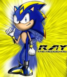 Ray, the Hedgehog by xsonic