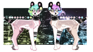- Late night City lights Auction open - by BleedingColorAdopts