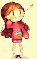 Gravity Falls ~ Mabel Pines ~ Doodle by Hitomi-chy