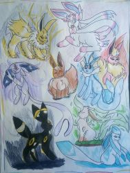 --Eeveelution-- by Windinz
