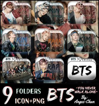 FOLDERS DE -BTS-YOU NEVER WALK ALONE - by ANGEE-CHANN