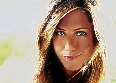 Jennifer Aniston by fantasiastudio